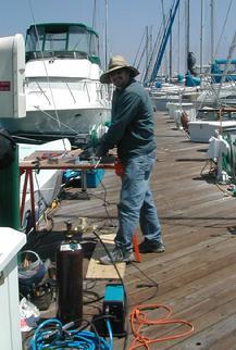 Boat repair san diego california since 1983 for Outboard motor repair san diego